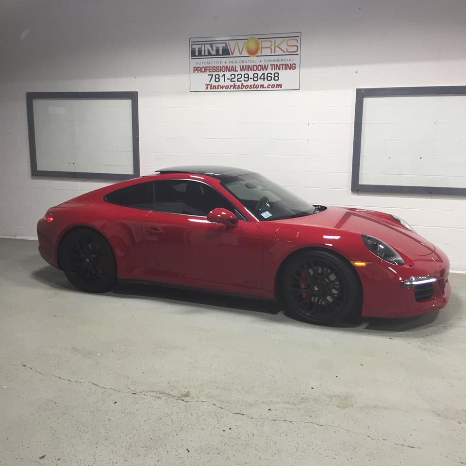 Porsche 911 GTS Getting the Llumar CTX Treatment