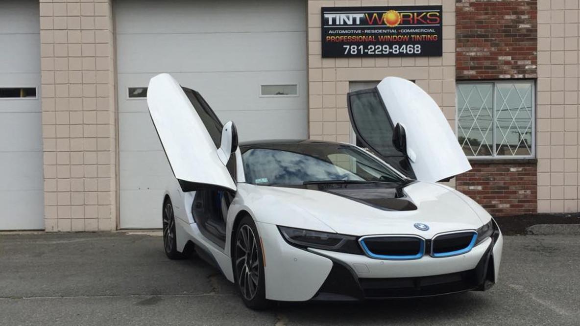 i8 BMW Tint