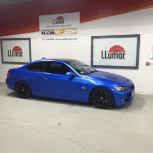 Come See Tintworks Boston for Vehicle Wrap Installation 8
