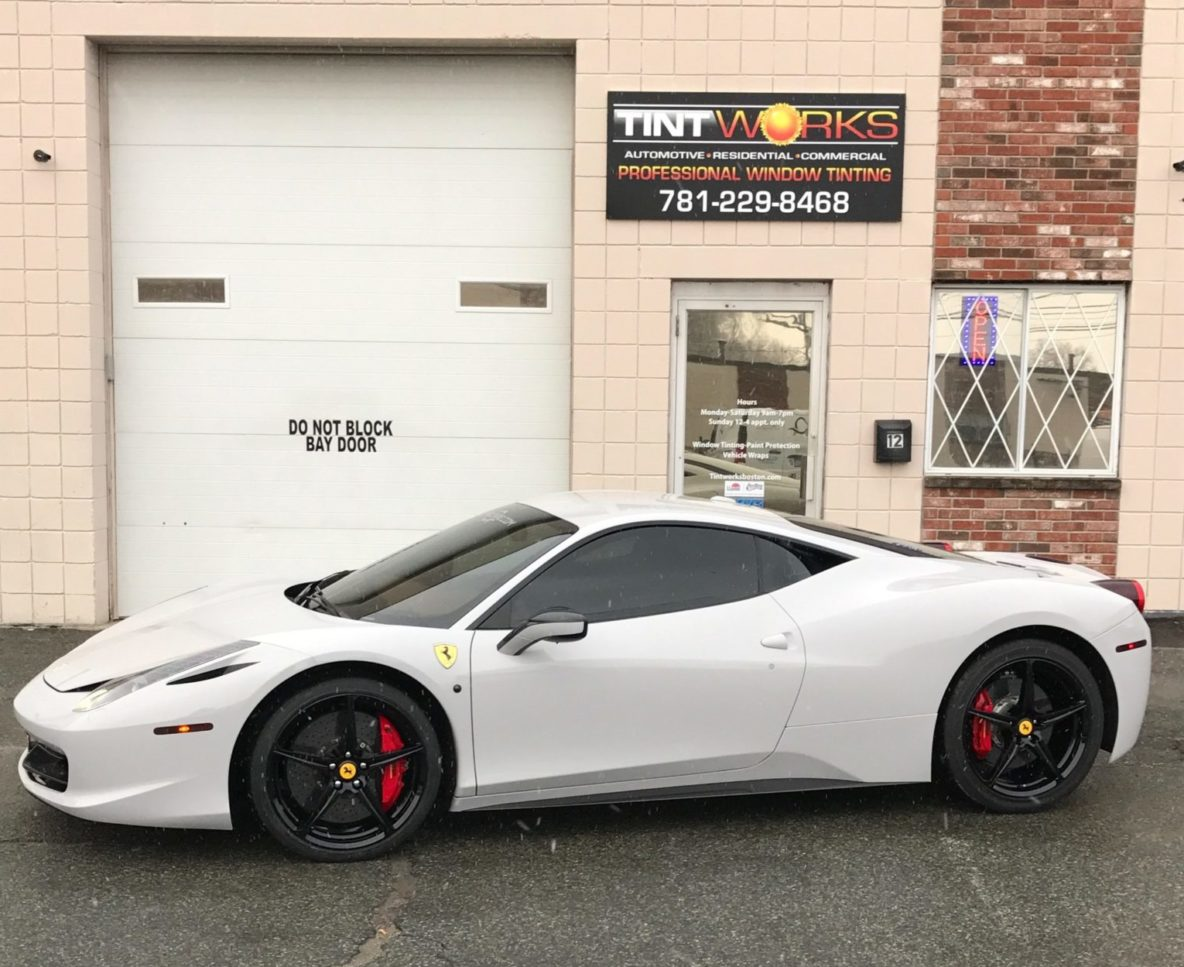 Ferrari 458 Italia Transformed with Vehicle Wrap and Tint 7
