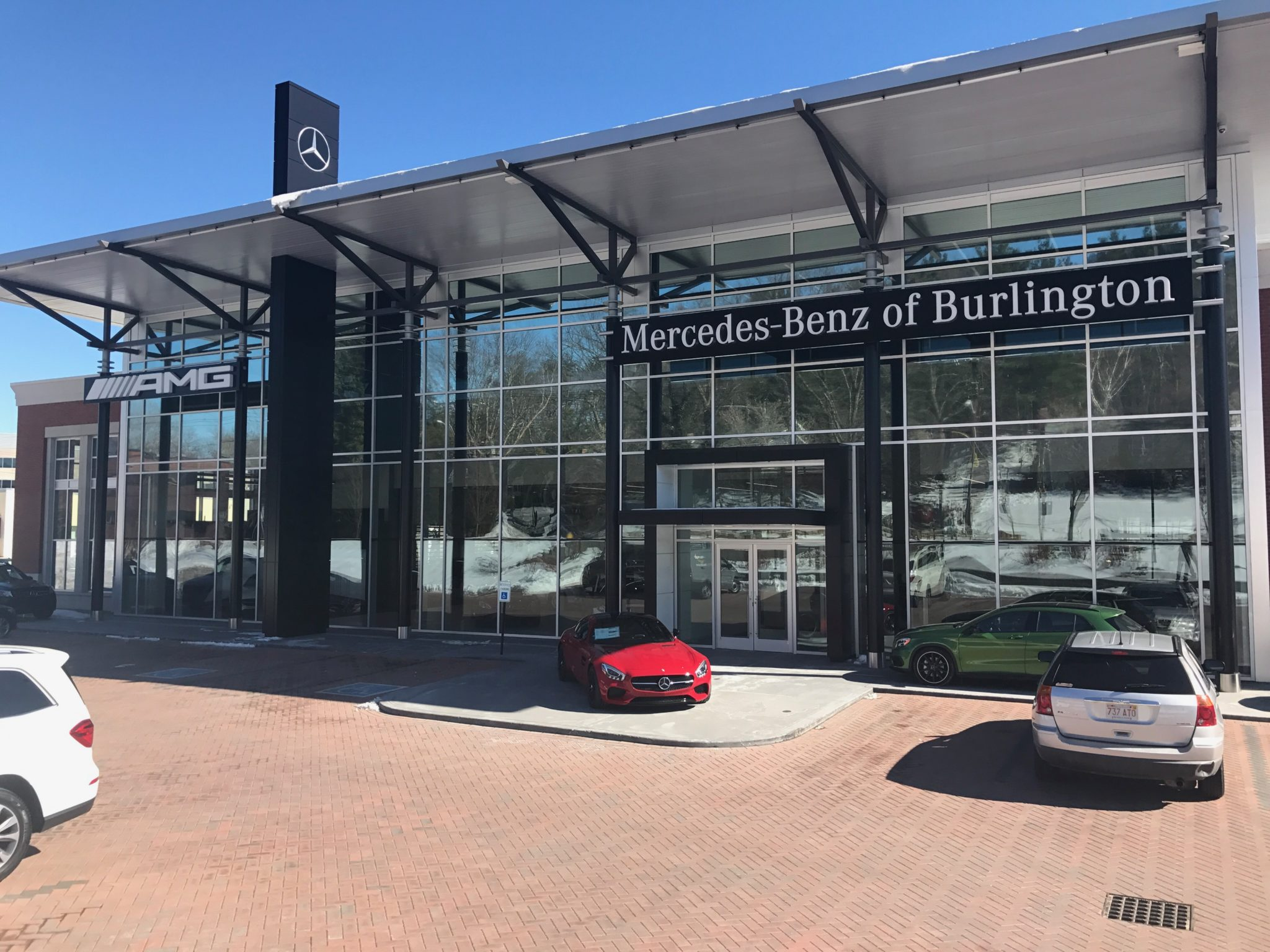 Tintworks helps mercedes benz of burlington fight a heat for Mercedes benz burlington ma
