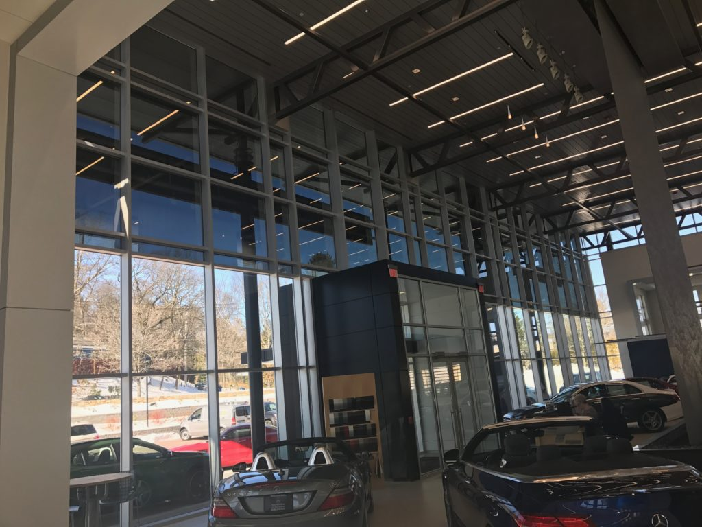 Tintworks Helps Mercedes Benz of Burlington Fight a Heat and Glare Problem 3
