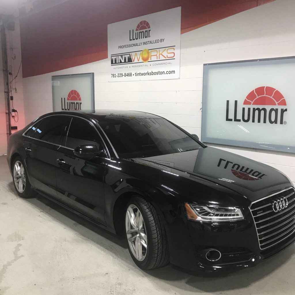 Red Sox Pitcher Chris Sale's Audi A8L Gets Llumar Ceramic Window Tint 2