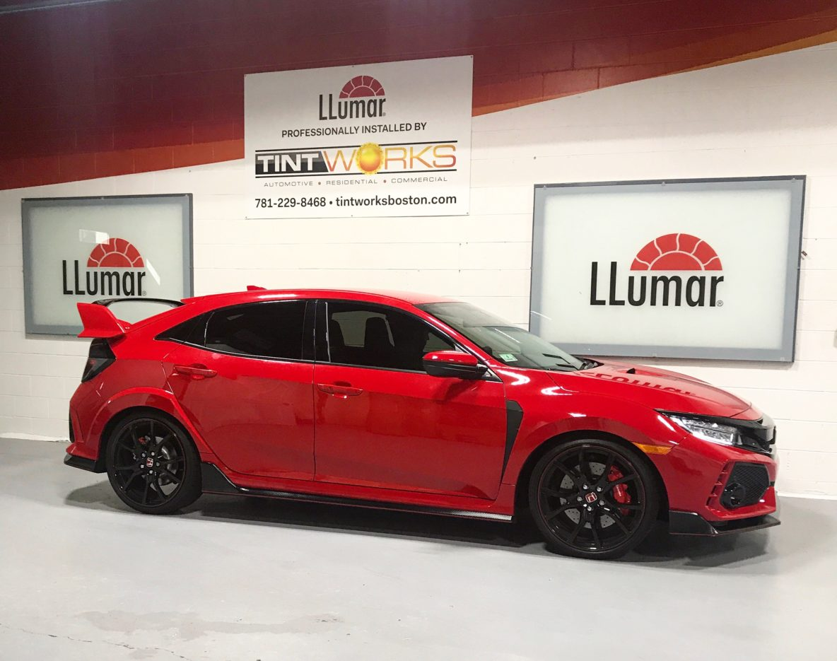 Rare 2017 Honda Civic Type R Arrives to Tint Works for Some Llumar Window Film